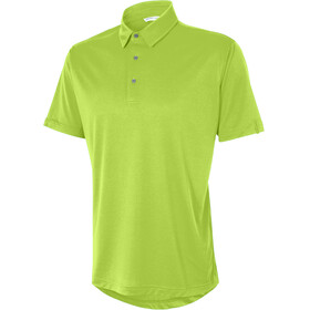 Ziener Canot Polo Shirt Men lime green
